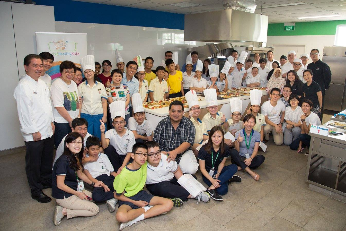 International Chefs Day Group Photo